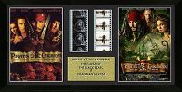# usfcp2rcs Pirates of the Caribbean The Curse of the Black Pearl and Dead Man's Chest Limited Edition Film Cell
