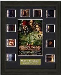 # uspotc2rcs Pirates of the Caribbean Dead Man's Chest Montage Limited Edition Film Cell