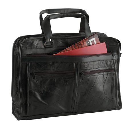 # RCBCLBCS Embassy USA Genuine Leather Briefcase
