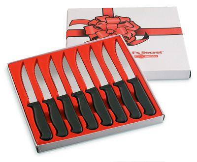 # RCCTCS8S Chef�s Secret 8 piece Steak Knife Set