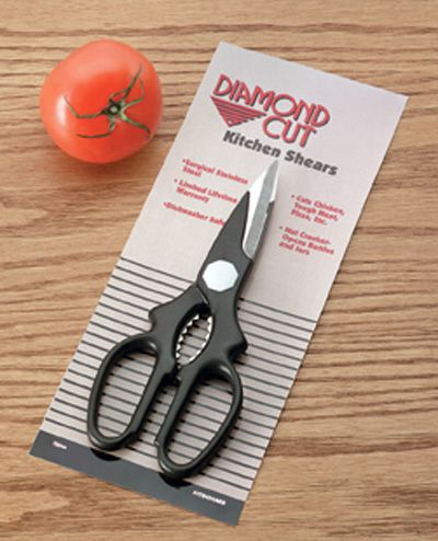 # RCCTDCSC4CS Diamond Cut Multi-purpose Kitchen Shears