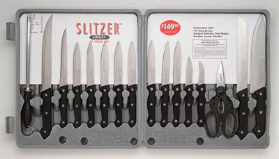 # RCCTSZ17S Slitzer Germany 17 piece Cutlery Set