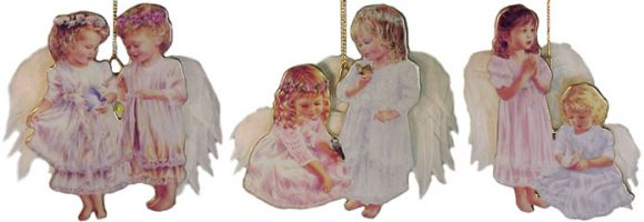 # RCRRDC38592S Christmas Ornament Set - Celestial Companions by the Bradford Exchange