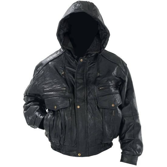 # RCGF95AS Giovanni Navarre Italian Stone Design Genuine Leather Jacket