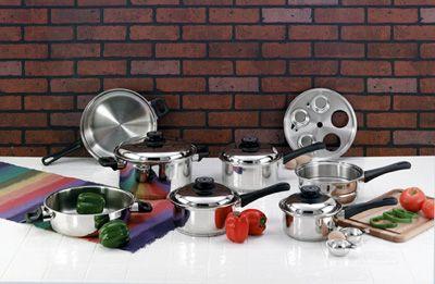# RCKT17S Maxam 5-Ply Cookware Set