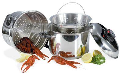 # RCKT82S Steam Control 8 quart Stainless Steel Spaghetti Cooker