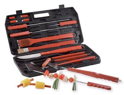 # RCKTBQ19S Chefmaster 18 piece Barbecue Set