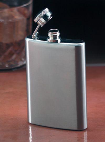 # RCKTFLASK4S Maxam Stainless Steel Hip Flask