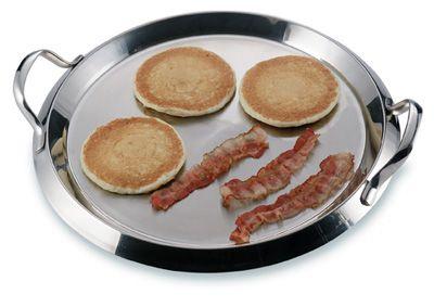 # RCKTGRID2S Chef's Secret Stainless Steel Round Griddle