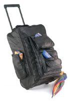 # RCLUBPRCS Embassy Italian Stone Design Leather Backpack/Cart