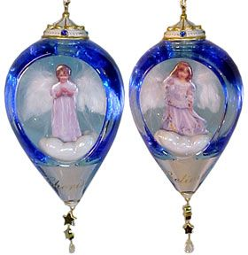 # RCRRDC38993S Christmas Ornament Set - Wish Upon a Star by the Bradford Exchange
