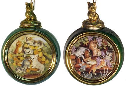 # RCRRDC68896S Christmas Ornament Set - Kitten Expeditions 11/12 by the Bradford Exchange