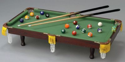 # RCSPPTS Table-top Miniature Pool Table