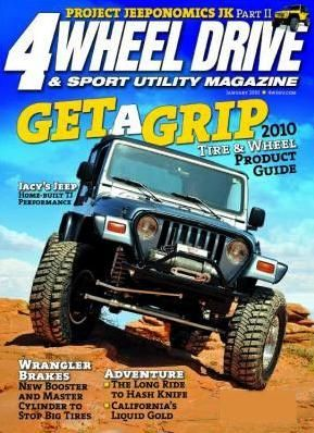 4 WHEEL DRIVE and SPORT UTILITY Magazine subscription
