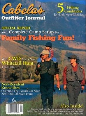 Cabela�s Outfitter Journal Magazine Subscription