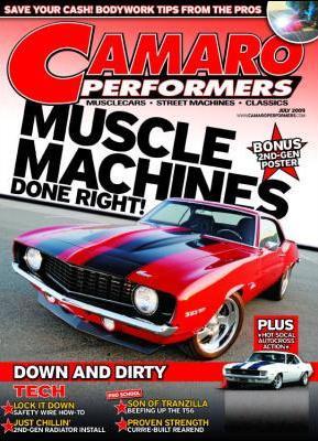 Camaro Performers Magazine Subscription