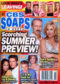 CBS Soaps in Depth Magazine Subscription