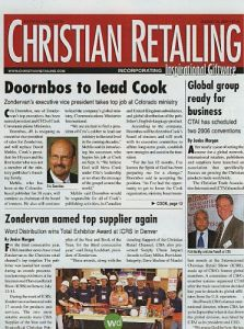 Christian Retailing magazine subscription