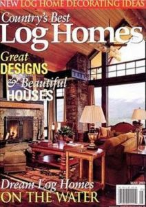 Country 39 s best log homes magazine best subscription deal for Log homes magazine