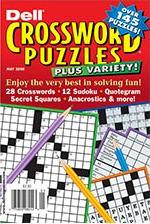 Dell Crossword Puzzles Magazine Subscription