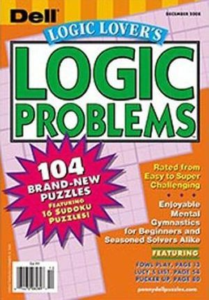 Dell Logic Lover's Logic Problems Magazine Subscription
