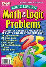 Dell Logic Lover's Math and Logic Problems Magazine Subscription