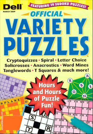 Dell Official Variety Puzzles Magazine Subscription