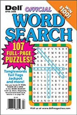 Dell Official Word Search Puzzles Magazine Subscription