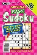 Dell Original Easy Sudoku Magazine Subscription