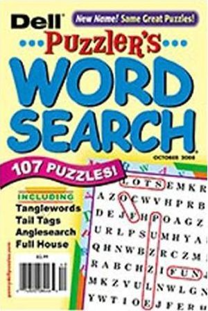 Dell Puzzler's Word Search Magazine Subscription
