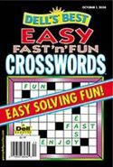 Dell Easy Fast n Fun Crosswords Magazine Subscription