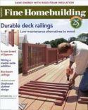 Fine Homebuilding Magazine Subscription