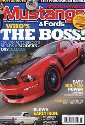 Modified Mustangs and Fords Magazine Subscription