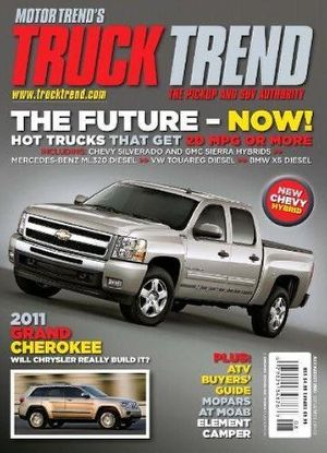 Truck Trend Magazine Subscription