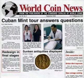World Coin News Magazine Subscription