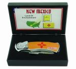 # RCBWCHPK2020NMTS New Mexico Collectable Pocket Knife