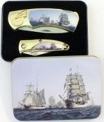 # RCBWCHPK2022SHIP1TS Sailing Ships Collectable Pocket Knives Set