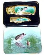 # RCGRKC202BATS Bass Collectable Pocket Knife Set