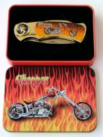 # RCGRPK2020CHOATS Flame Chopper Collectable Pocket Knife
