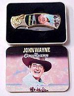 # RCGRPK2020JW3TS John Wayne The Comancheros Collector Pocket Knife